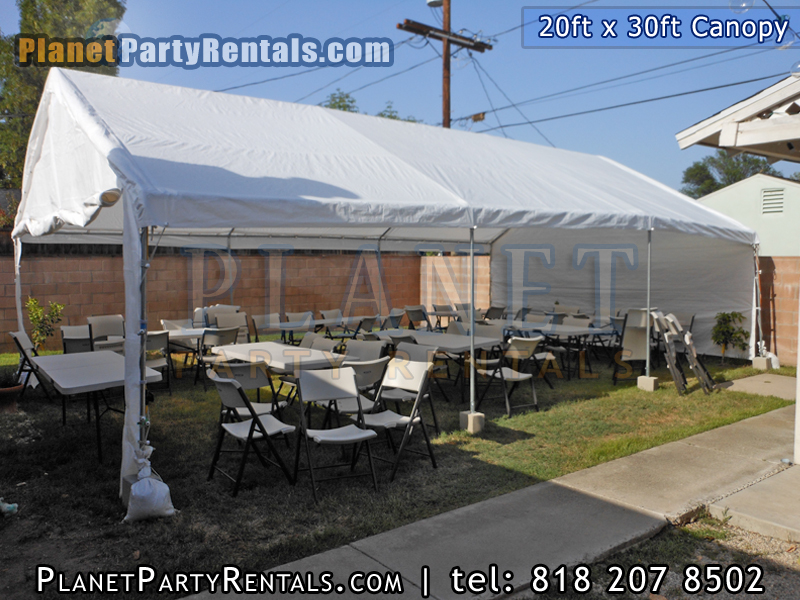Canopies Tents Prices Sizes Pictures Partyrentals Vannuys