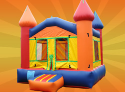 cheap rentals offered here bouncers bounce house fun house jumpers available here for rent includes 12 balloons for free with each rental