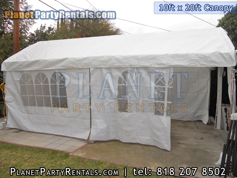 Canopy Rental 10ft X 20ft Size And Prices Party Tents